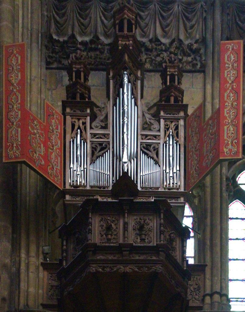Nest-Orgel geöffnet